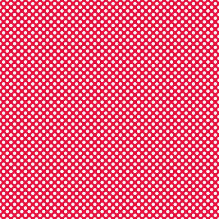 tiny: Red tiny Polka Dots Background
