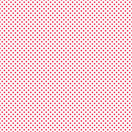 red wallpaper: Red tiny Polka Dots Background