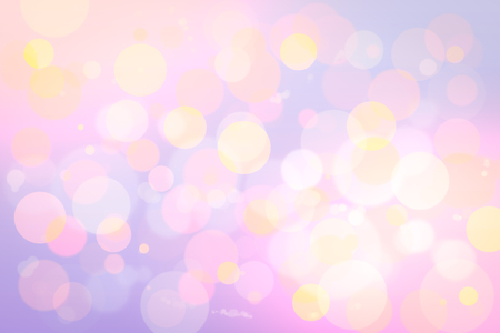 purple abstract background: vivid bokeh in soft color style for background of Christmas light Stock Photo