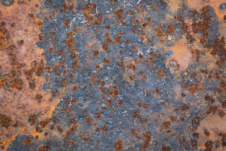 Old grunge rustic metal texture background Imagens