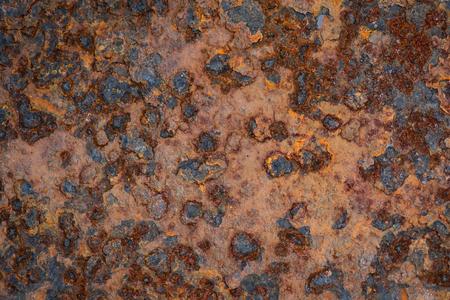 古いグランジ素朴な金属のテクスチャ背景