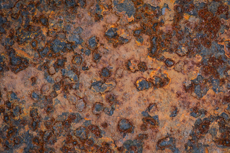 Old grunge rustic metal texture background 免版税图像