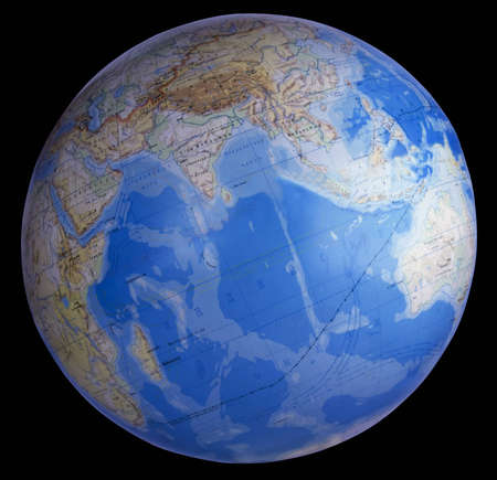 model of the planet Earth