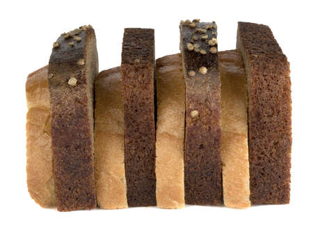 brown and white sandwich
