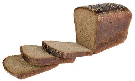 sliced brown bread Banco de Imagens
