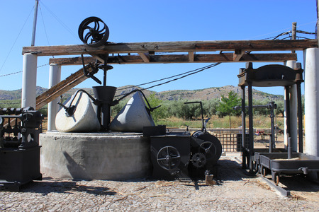Old Oil Olive Mill in  Canary Islands, Spain photo