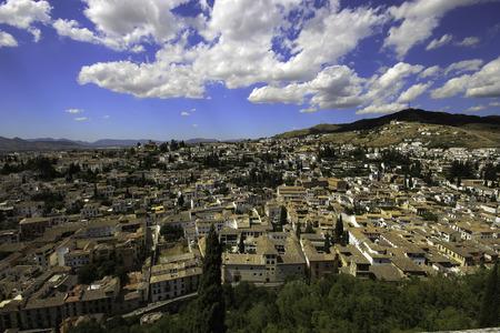 ferien: Ein Bergdorf auf Gran Canaria Stock Photo