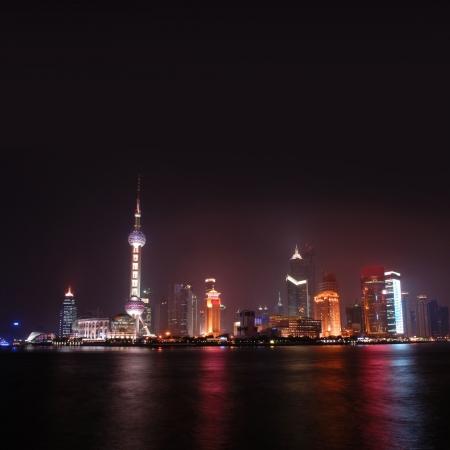 schein: Shanghai Skyline