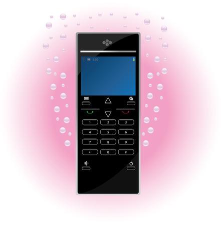 Vector Wireless phone Vector