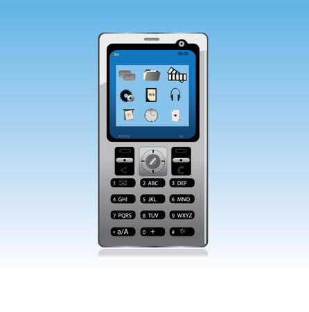 vector mobile phone  Vector