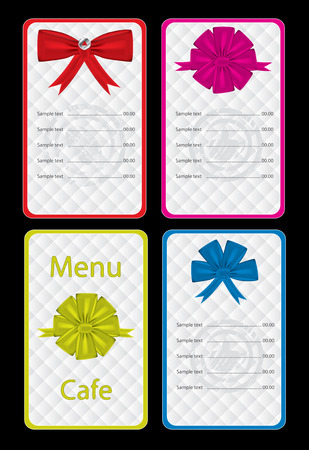 Templates designs for menu cafe or restaurant Stock Vector - 6584101