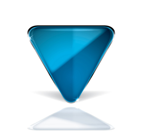 glass button Stock Vector - 7865015