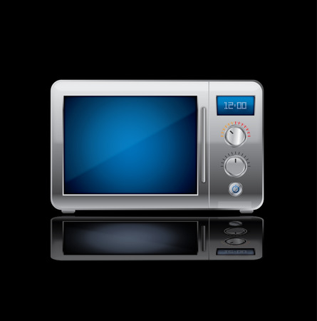 microwave stove Stock Vector - 7864828