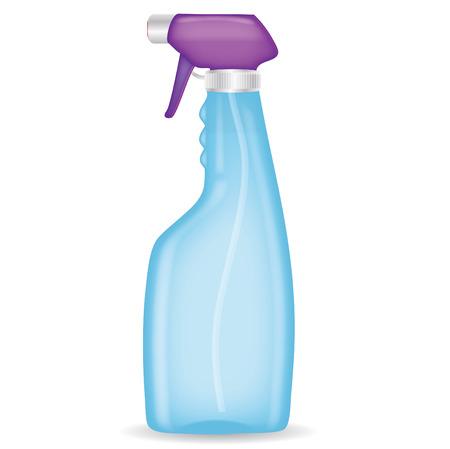 detergent: Spray bottle Illustration