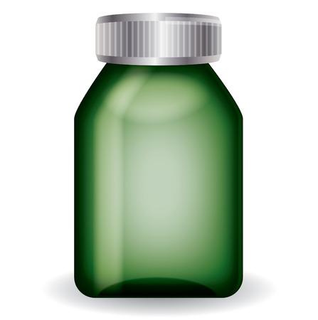 medical bottle: Medical bottle  Illustration