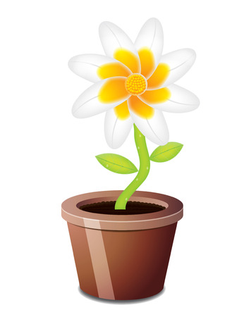 Flower on a isolated background Stock Vector - 8257549