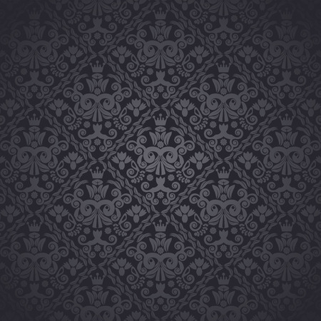 vector wallpaper: seamless vector wallpaper in classic style