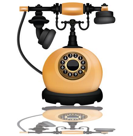 old phone:  Vintage telephone