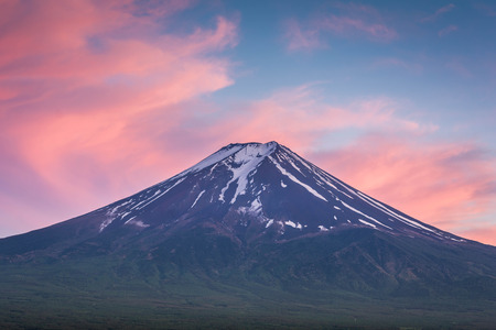 fujisan: Magnificent Fujisan Stock Photo