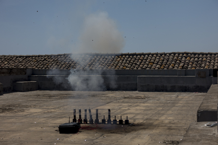 pyrotechnic: explosion fireworks fireworks pyrotechnic patron saint games