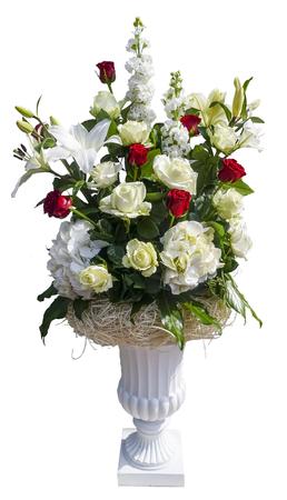aralia: flower arrangement Stock Photo