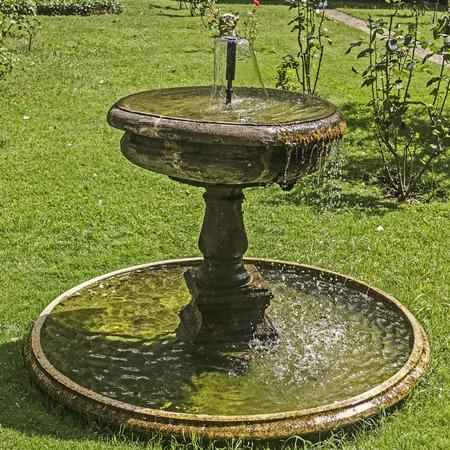 gush: fountain Stock Photo