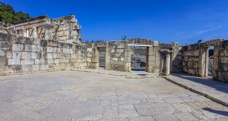 the gospels: ruins of Capernaum