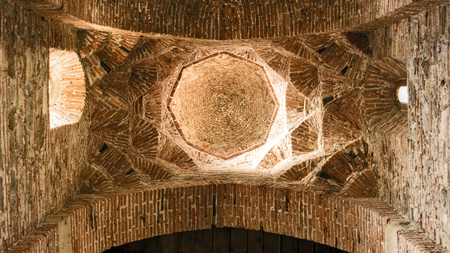 The Basilica of Saints Peter and Paul in Agrò - interior of the dome