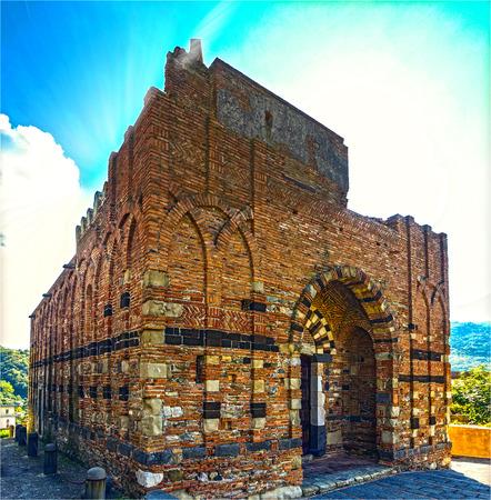 saints peter and paul: The Basilica of Saints Peter and Paul in Agrò - external fa�ade Editorial