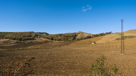 Sicilian hinterland
