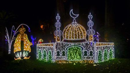 nights: luminaie Arabian Nights Stock Photo