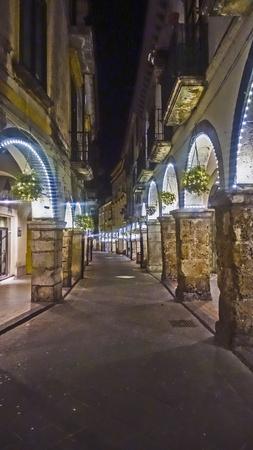 privileged: Scacciaventi the town of Cava de Tirreni