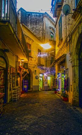 yegua: The streets of Vietri sul mare