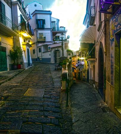 yegua: las calles de Vietri sul Mare ¿Quién y perdedores