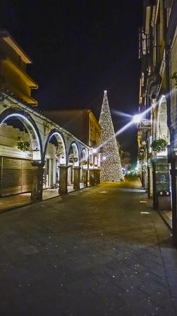privileged: Scacciaventi village and the big Christmas tree in Cava de Tirreni