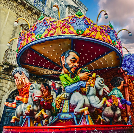 papiermache: the carousel of political