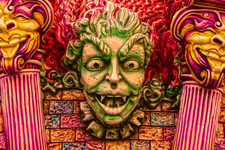 varnished: murals: Satan to the gates of hell Editorial