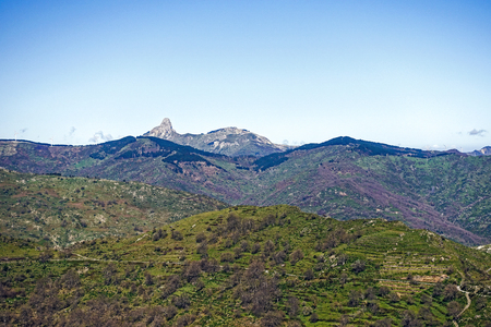 gash: the peaks of the Peloritani mountains and the Matterhorn of Sicily