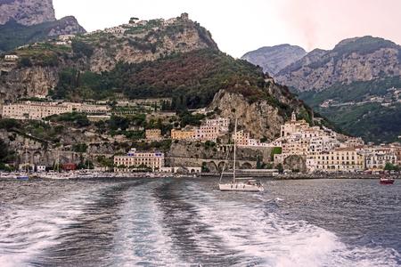 Panorama of Amalfi 375