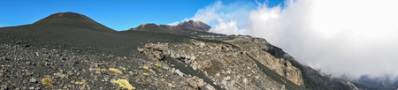 overview of the Valle del Bove on the slopes of Mount Etna 96