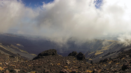 The volcano Etna and the Valle del Bove 91