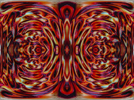 background rotating red flames and fire