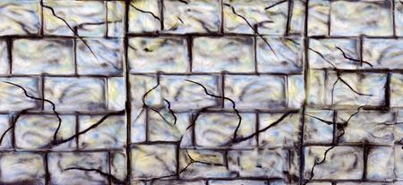 Brick unique Wall grey color