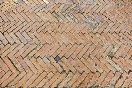 brick herringbone bricks