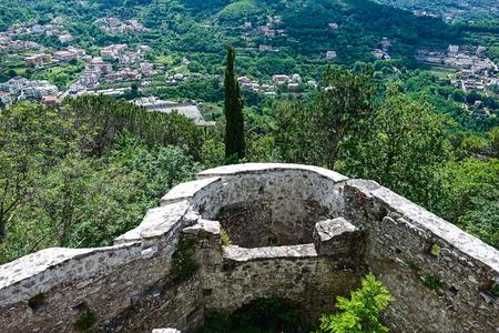 Ruins at Monte Castello Archivio Fotografico - 108665578
