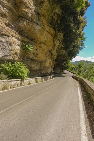 on the road on the Metellian valley Archivio Fotografico - 108665579