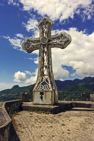 The Cross of Monte Castello in Cava de tirreni