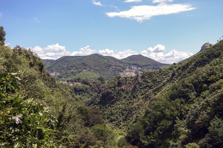 Overview of the Metelliana Valley Archivio Fotografico - 110893860