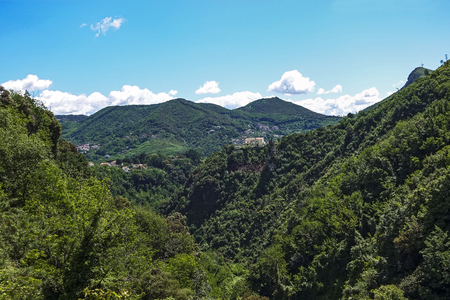 panorama of the Metelliana Valley