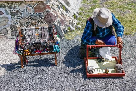 souvenir seller